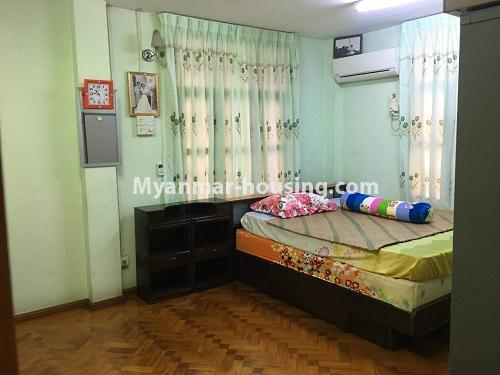 Myanmar real estate - for sale property - No.3328 - Two storey landed house in quiet and peaceful area for sale in Yankin! - master bedroom 2