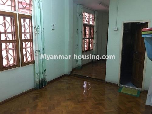 Myanmar real estate - for sale property - No.3328 - Two storey landed house in quiet and peaceful area for sale in Yankin! - master bedroom 3