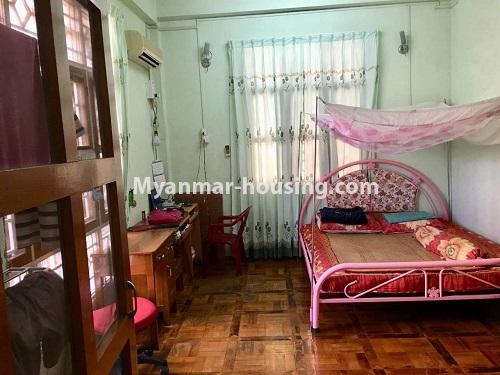 Myanmar real estate - for sale property - No.3328 - Two storey landed house in quiet and peaceful area for sale in Yankin! - single bedroom