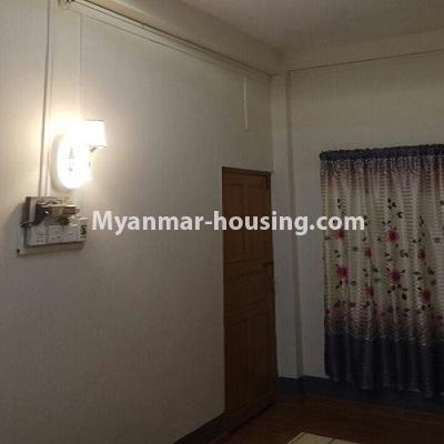 Myanmar real estate - for sale property - No.3332 - Second floor apartment for sale on Baho road, Hlaing! - main door view