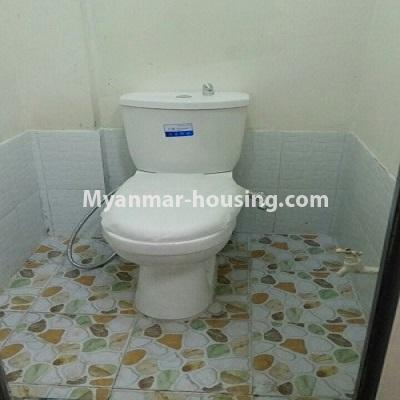 Myanmar real estate - for sale property - No.3332 - Second floor apartment for sale on Baho road, Hlaing! - toilet