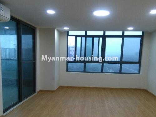 Myanmar real estate - for sale property - No.3346 - Grand Myakanthar Condominium room for sale in Hlaing! - bedroom view