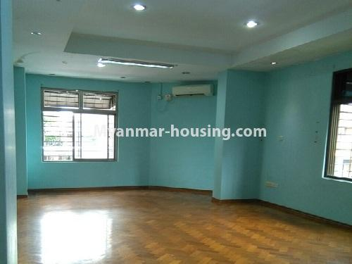 Myanmar real estate - for sale property - No.3347 - Large University Yeik Mon Condo room for sale in Bahan! - one bedroom