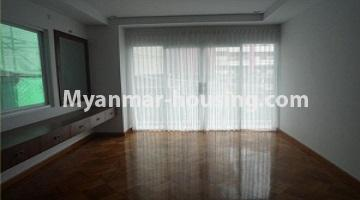 Myanmar real estate - for sale property - No.3349 - Newly Sein Lae May Yeik Thar Condominium Rooms for sale in Yakin! - master bedroom 1 view