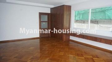 Myanmar real estate - for sale property - No.3349 - Newly Sein Lae May Yeik Thar Condominium Rooms for sale in Yakin! - another view of master bedroom 1