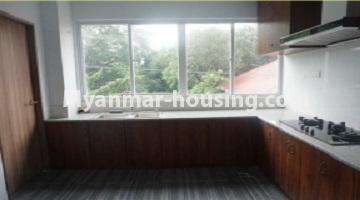 Myanmar real estate - for sale property - No.3349 - Newly Sein Lae May Yeik Thar Condominium Rooms for sale in Yakin! - kitchen view