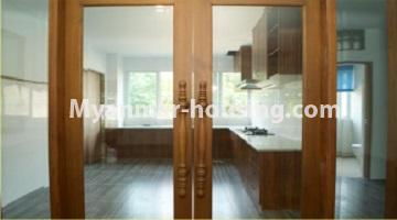 Myanmar real estate - for sale property - No.3349 - Newly Sein Lae May Yeik Thar Condominium Rooms for sale in Yakin! - another view of kitchen