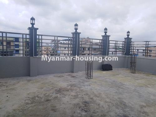 Myanmar real estate - for sale property - No.3350 - New Five Storey Building for doing business for sale on Yatana Road, South Okkalapa! - patio view