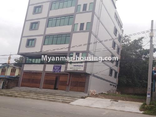 Myanmar real estate - for sale property - No.3350 - New Five Storey Building for doing business for sale on Yatana Road, South Okkalapa! - building view