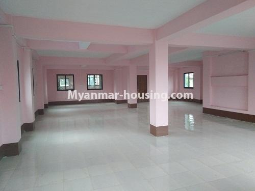 Myanmar real estate - for sale property - No.3350 - New Five Storey Building for doing business for sale on Yatana Road, South Okkalapa! - first floor view