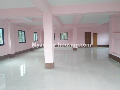 Myanmar real estate - for sale property - No.3350 - New Five Storey Building for doing business for sale on Yatana Road, South Okkalapa! - second floor view