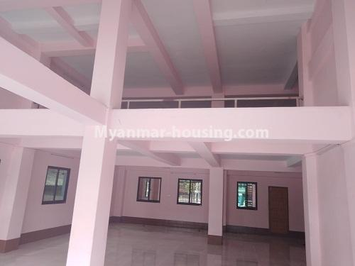 Myanmar real estate - for sale property - No.3350 - New Five Storey Building for doing business for sale on Yatana Road, South Okkalapa! - ground floor view