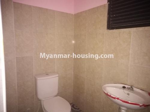 Myanmar real estate - for sale property - No.3350 - New Five Storey Building for doing business for sale on Yatana Road, South Okkalapa! - bathroom view