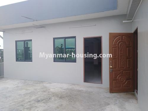 Myanmar real estate - for sale property - No.3350 - New Five Storey Building for doing business for sale on Yatana Road, South Okkalapa! - top floor view