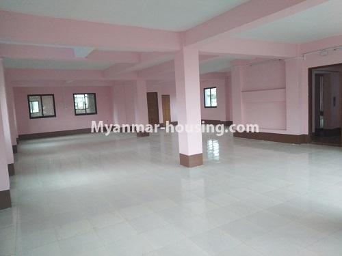 Myanmar real estate - for sale property - No.3350 - New Five Storey Building for doing business for sale on Yatana Road, South Okkalapa! - third floor view