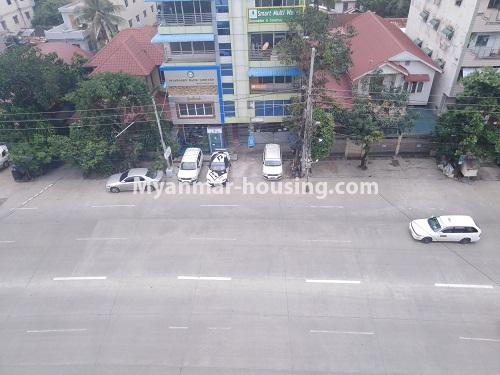 Myanmar real estate - for sale property - No.3350 - New Five Storey Building for doing business for sale on Yatana Road, South Okkalapa! - road view