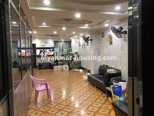 ミャンマー不動産 - 売り物件 - No.3353 - First Floor Condominium Room for Sale in Mingalar Taung Nyunt! - another view of living room