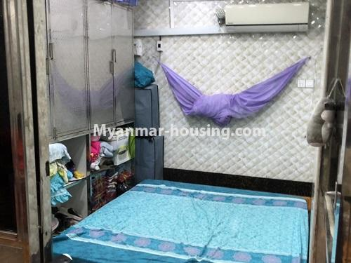 ミャンマー不動産 - 売り物件 - No.3353 - First Floor Condominium Room for Sale in Mingalar Taung Nyunt! - bedroom 1