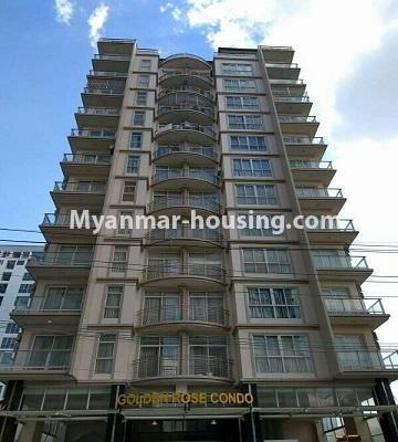 မြန်မာအိမ်ခြံမြေ - ရောင်းမည် property - No.3357 - အလုံ ရွေှနှင့်ဆီကွန်ဒိုတွင် အခန်းရောင်းရန် ရှိသည်။ - Golden Rose Building View