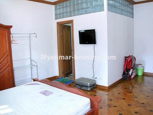 Myanmar real estate - for sale property - No.3360 - Nice Villa close to Kandawgyi Lake for sale in Bahan. - bedroom 1 view
