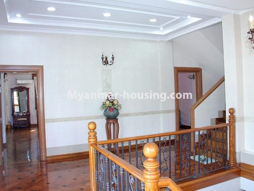 Myanmar real estate - for sale property - No.3360 - Nice Villa close to Kandawgyi Lake for sale in Bahan. - second floor view
