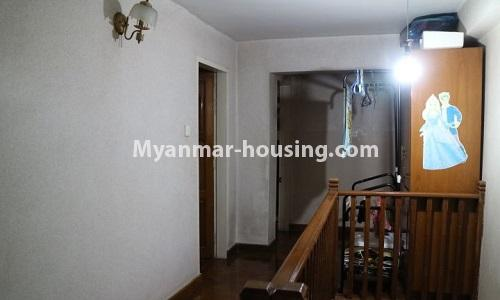 Myanmar real estate - for sale property - No.3366 - Hong Kong Type Apartment for rent in front of the Aung San Stadium, Mingalar Taung Nyunt! - upstairs veiw