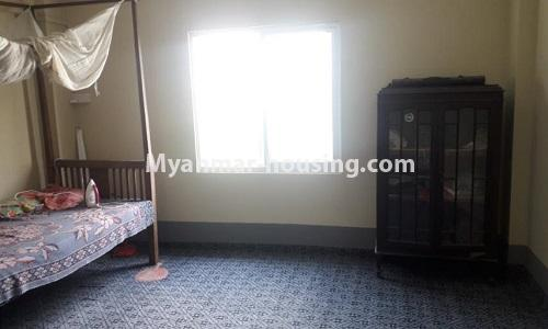 Myanmar real estate - for sale property - No.3367 - Newly built mini condominium room for sale in Hlaing! - single bedroom view