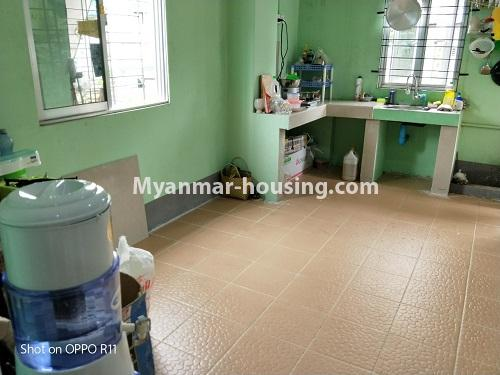 Myanmar real estate - for sale property - No.3371 - First floor apartment for sale in Thin Gan Gyun Township. - kitchen view