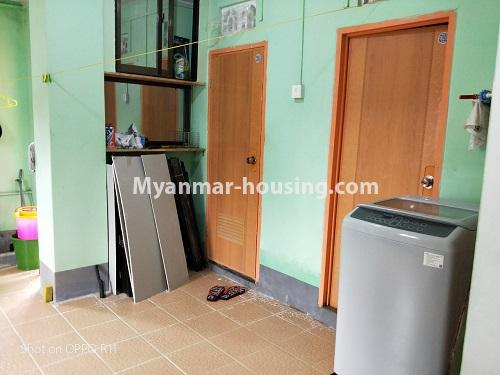 Myanmar real estate - for sale property - No.3371 - First floor apartment for sale in Thin Gan Gyun Township. - another view of kitchen area
