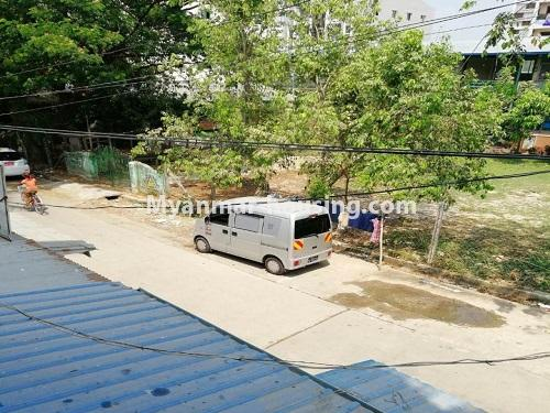 Myanmar real estate - for sale property - No.3371 - First floor apartment for sale in Thin Gan Gyun Township. - road view