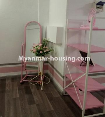 Myanmar real estate - for sale property - No.3372 - First floor glass room apartment for sale in Mayangone! - inside decoration