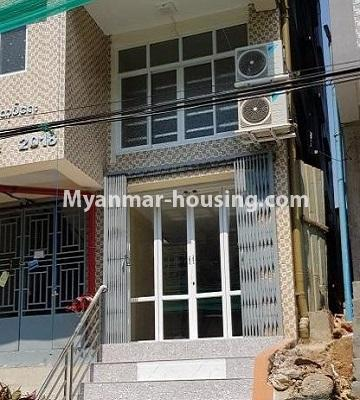 Myanmar real estate - for sale property - No.3374 - Decorated ground floor for sale in Sanchaung! - buidling view