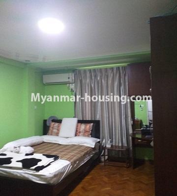 မြန်မာအိမ်ခြံမြေ - ရောင်းမည် property - No.3382 - လှိိုင် ခပေါင်းအိမ်ရာတွင် အခန်းရောင်းရန်ရှိသည်။ - single bedroom 1 view
