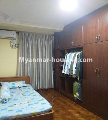 မြန်မာအိမ်ခြံမြေ - ရောင်းမည် property - No.3382 - လှိိုင် ခပေါင်းအိမ်ရာတွင် အခန်းရောင်းရန်ရှိသည်။ - single bedroom 2 view