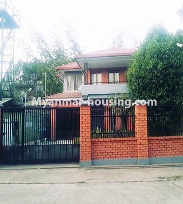 မြန်မာအိမ်ခြံမြေ - ရောင်းမည် property - No.3386 - သန်လျင်တွင် လုံးချင်းအိမ်တစ်လုံး ရောင်းရန်ရှိသည်။ - house view