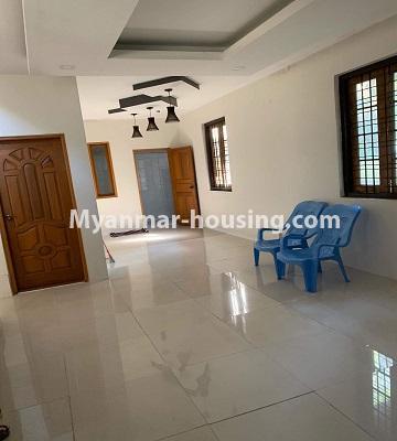 မြန်မာအိမ်ခြံမြေ - ရောင်းမည် property - No.3386 - သန်လျင်တွင် လုံးချင်းအိမ်တစ်လုံး ရောင်းရန်ရှိသည်။ - ground floor view