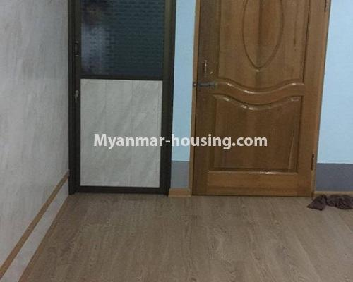 Myanmar real estate - for sale property - No.3388 - Lower Level apartment near Thanthumar Road for sale in South Okkalapa! - bedroom view
