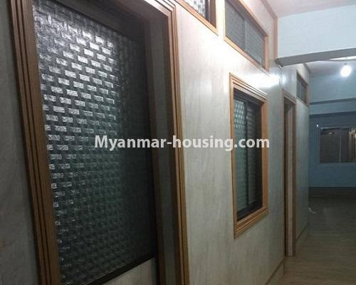 Myanmar real estate - for sale property - No.3388 - Lower Level apartment near Thanthumar Road for sale in South Okkalapa! - bedroom walls view