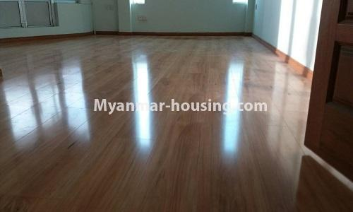 Myanmar real estate - for sale property - No.3389 - Pent house with the panoramic view for sale in Yankin! - anothr view of living room