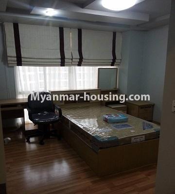 မြန်မာအိမ်ခြံမြေ - ရောင်းမည် property - No.3390 - သန်လျင်တွင် ပြင်ဆင်ပြီး အိပ်ခန်းသုံးခန်းနှင်ပရိဘောဂပါသော ကွန်ဒိုခန်း ရောင်းရန်ရှိသည်။ - single bedroom view
