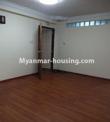 Myanmar real estate - for sale property - No.3391 - First floor two bedroom apartment for sale in Yankin! - bedroom 1