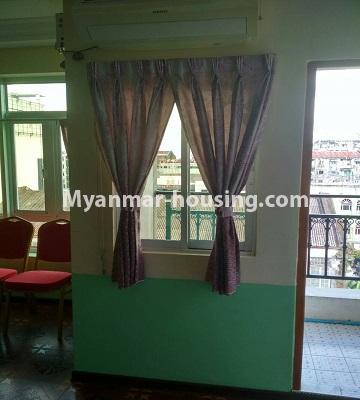 မြန်မာအိမ်ခြံမြေ - ရောင်းမည် property - No.3396 - ကျောက်တံတားမြို့နယ် Ruby 36 ကွန်ဒိုတွင် အခန်းရောင်းရန်ရှိသည်။ - living room view