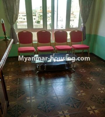 မြန်မာအိမ်ခြံမြေ - ရောင်းမည် property - No.3396 - ကျောက်တံတားမြို့နယ် Ruby 36 ကွန်ဒိုတွင် အခန်းရောင်းရန်ရှိသည်။ - anothr view of living room