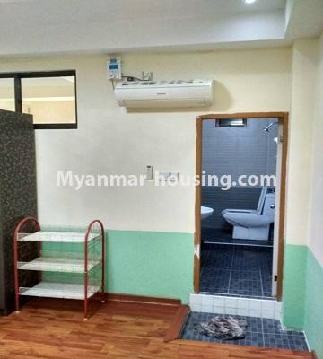 မြန်မာအိမ်ခြံမြေ - ရောင်းမည် property - No.3396 - ကျောက်တံတားမြို့နယ် Ruby 36 ကွန်ဒိုတွင် အခန်းရောင်းရန်ရှိသည်။ - master bedroom bathroom