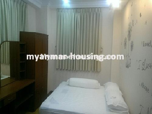 Myanmar real estate - for sale property - No.3399 - Well-decorated Bagayar Condominium room for sale in Sanchaung! - bedroom 2