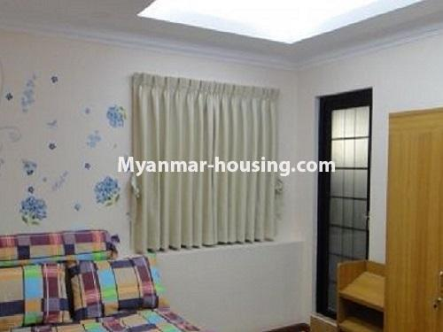Myanmar real estate - for sale property - No.3399 - Well-decorated Bagayar Condominium room for sale in Sanchaung! - bedroom 3