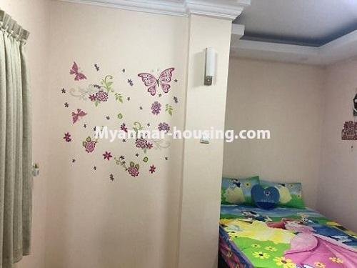 Myanmar real estate - for sale property - No.3399 - Well-decorated Bagayar Condominium room for sale in Sanchaung! - bedroom 4