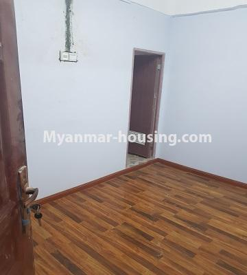 Myanmar real estate - for sale property - No.3410 - Newly built condominium room for sale in Tauggyi! - master bedroom view