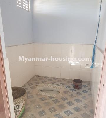 Myanmar real estate - for sale property - No.3410 - Newly built condominium room for sale in Tauggyi! - common toilet