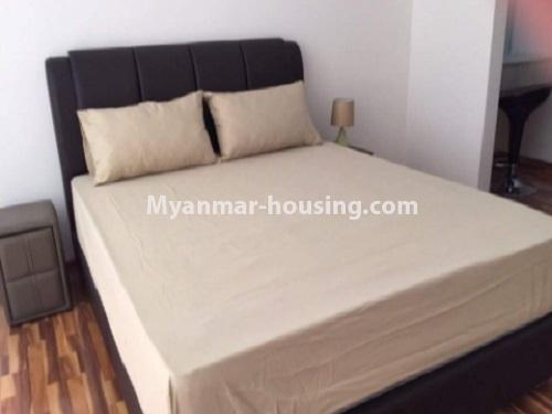 Myanmar real estate - for sale property - No.3412 - Decorated 2BHK Star City Condominium Room for sale in Thanlyin! - single bedroom view